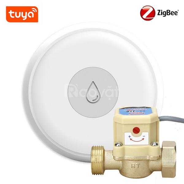 Cảm biến dòng chảy nước wifi Tuya có chức năng gì?