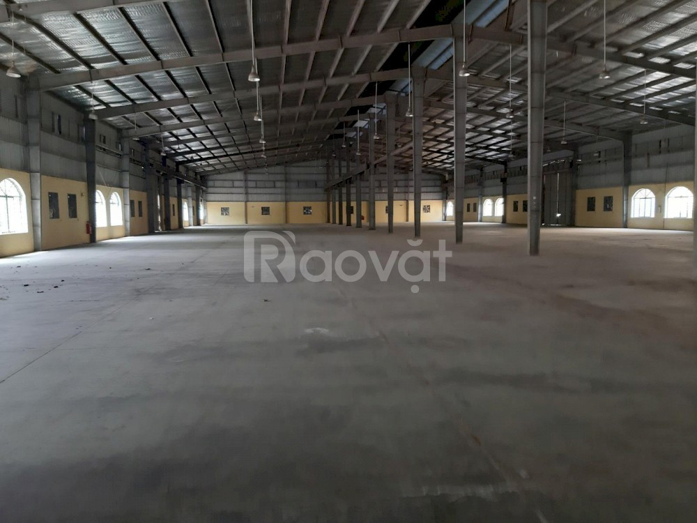 Cho thuê kho xưởng 2.000m2 5.000m2 8.000m2, tỉnh Lộ 200 xã Giai Phạm