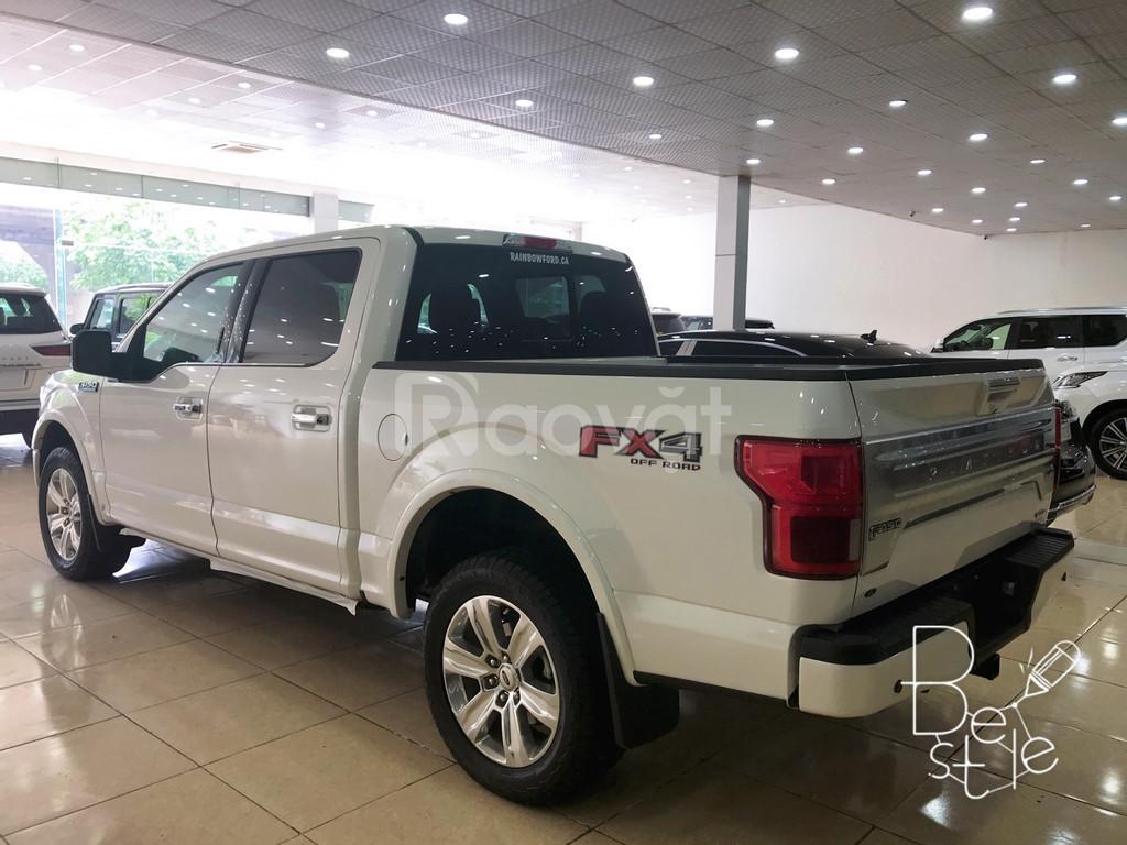Bán tải Ford F150 Limited 3.5, nhập Mỹ 2019, màu trắng mới 100%