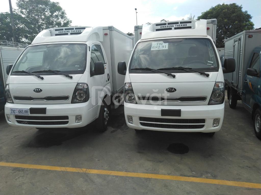 Bán xe tải đông lạnh Kia Thaco