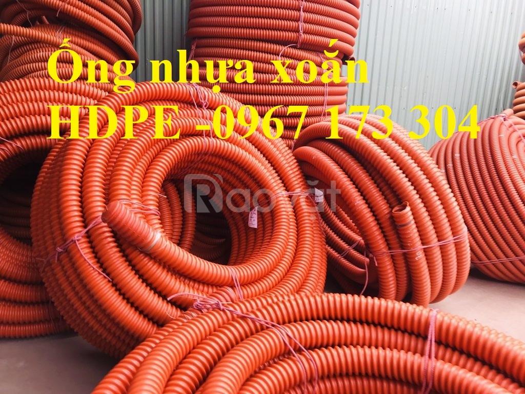 Ống gân xoắn HDPE chịu lực 160/210 chính hãng giá rẻ (ảnh 6)