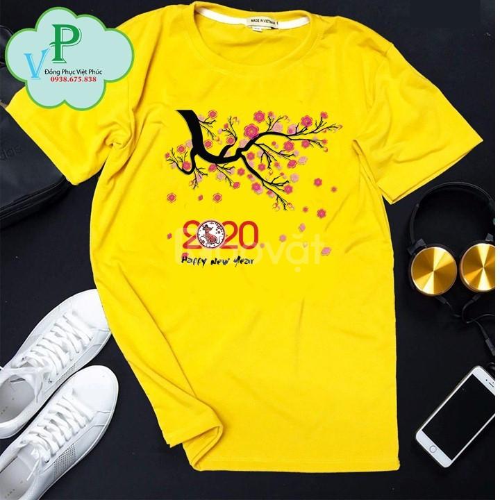 Áo thun tết 2020 - mẫu áo thun tết đẹp 2020