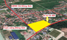 Bán nhanh lô đất Đông Sơn- Thủy Nguyên mặt tiền quốc lộ 10