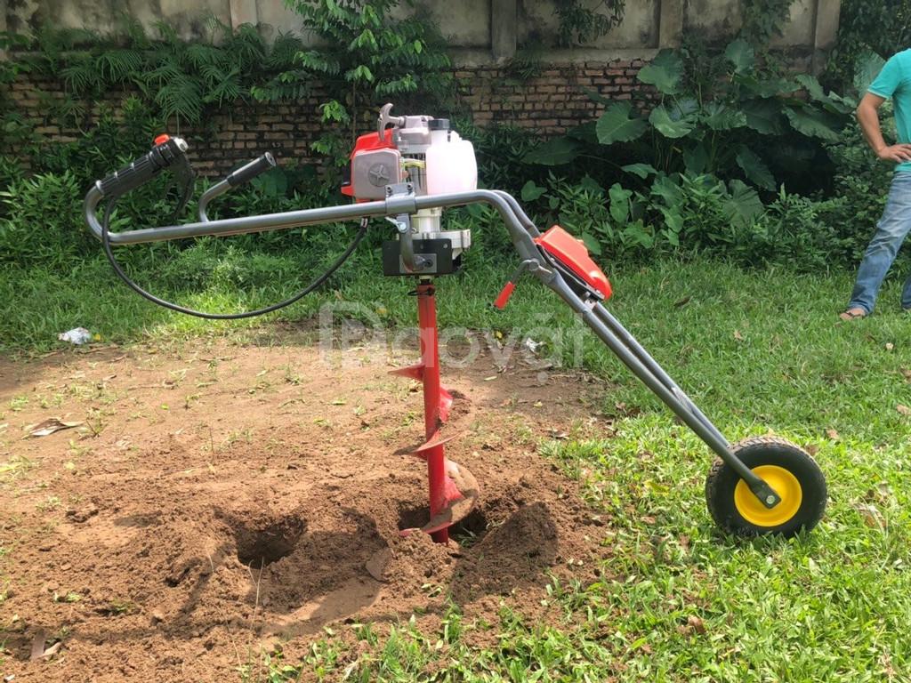 Máy khoan đất trồng cây, máy khoan hố trồng cây loại cải tiến