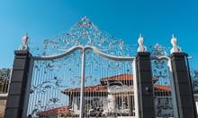 Các mẫu lan can, cổng, hàng rào sắt mỹ thuật