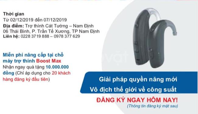 Nâng cấp máy trợ thính miễn phí