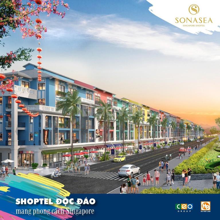 Mở bán shophouse Sonasea Vân Đồn Harbor City