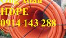 Ống gân xoắn HDPE chịu lực 160/210 chính hãng giá rẻ (ảnh 1)
