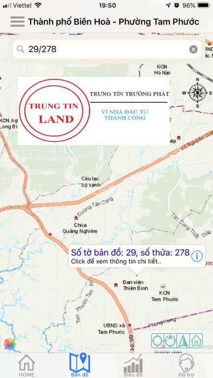 Cần bán gấp lô góc 2 mặt tiền đẹp gần sân bay Long Thành giá đầu tư.