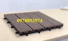 Tấm sàn nhựa giả gỗ lát ngoài trời composite Mạnh Phát