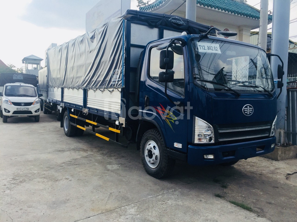 Xe tải 8 tấn ga cơ thùng dài 6m3 huyền thoại (ảnh 1)