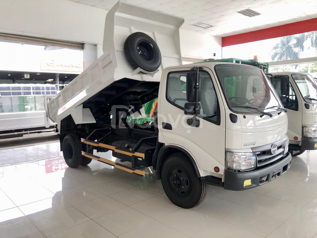 Xe ben HINO 4t5 thùng 3,5 khối. nhập khẩu indonesia.