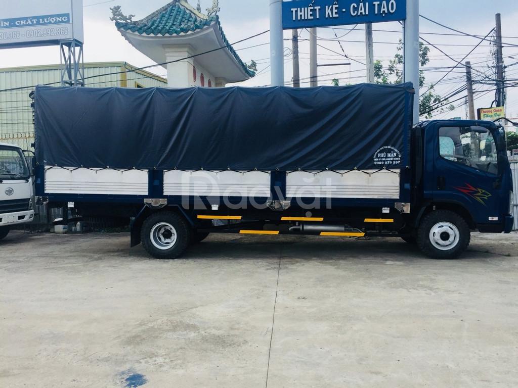 Xe tải 8 tấn ga cơ thùng dài 6m3 huyền thoại (ảnh 5)