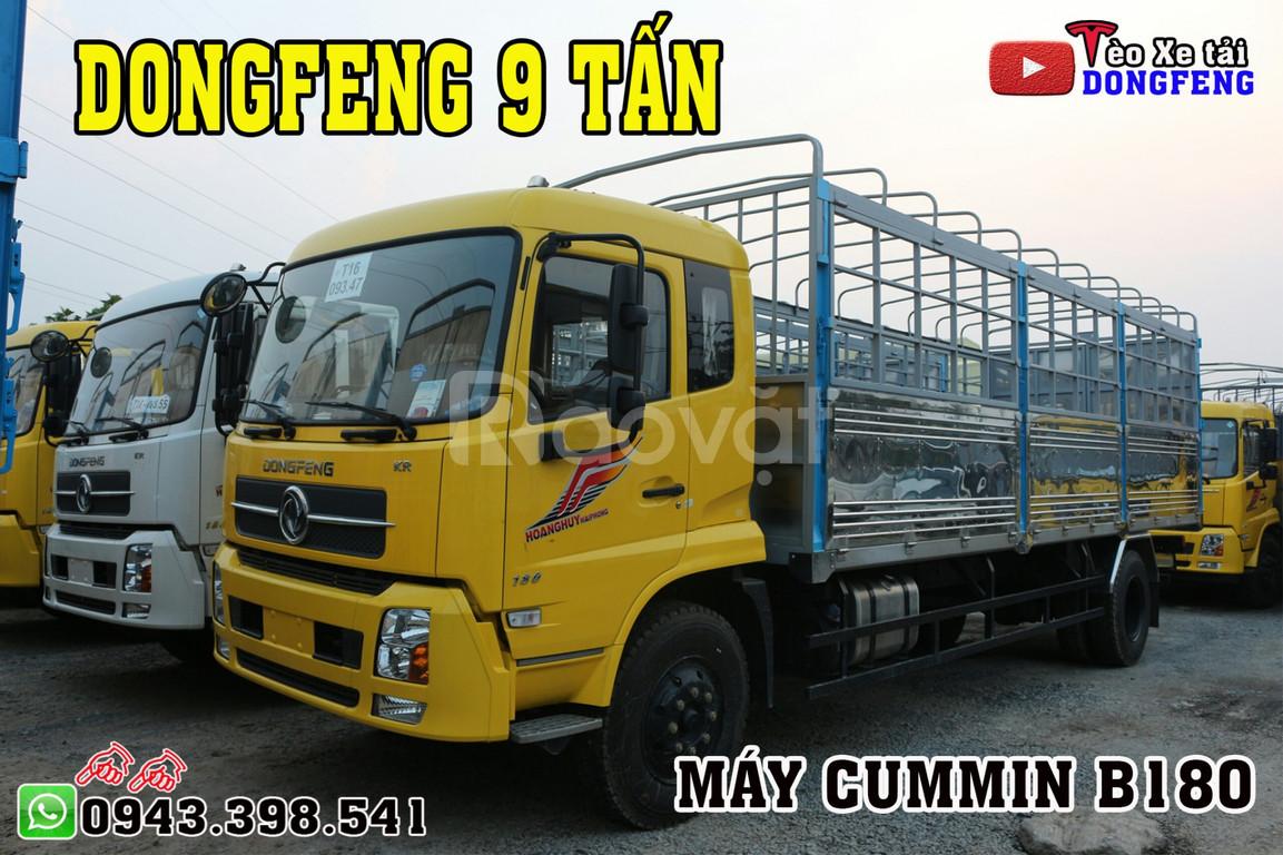 Bán xe Dongfeng 9 tấn | Dong feng B180 tải 9 tấn thùng 7m5