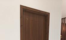 Các mẫu cửa nhựa giả gỗ tốt hiện nay