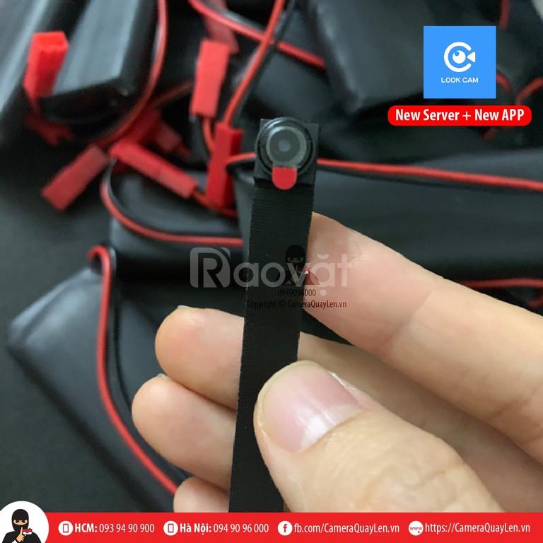 Camera quay lén sử dụng look cam New App