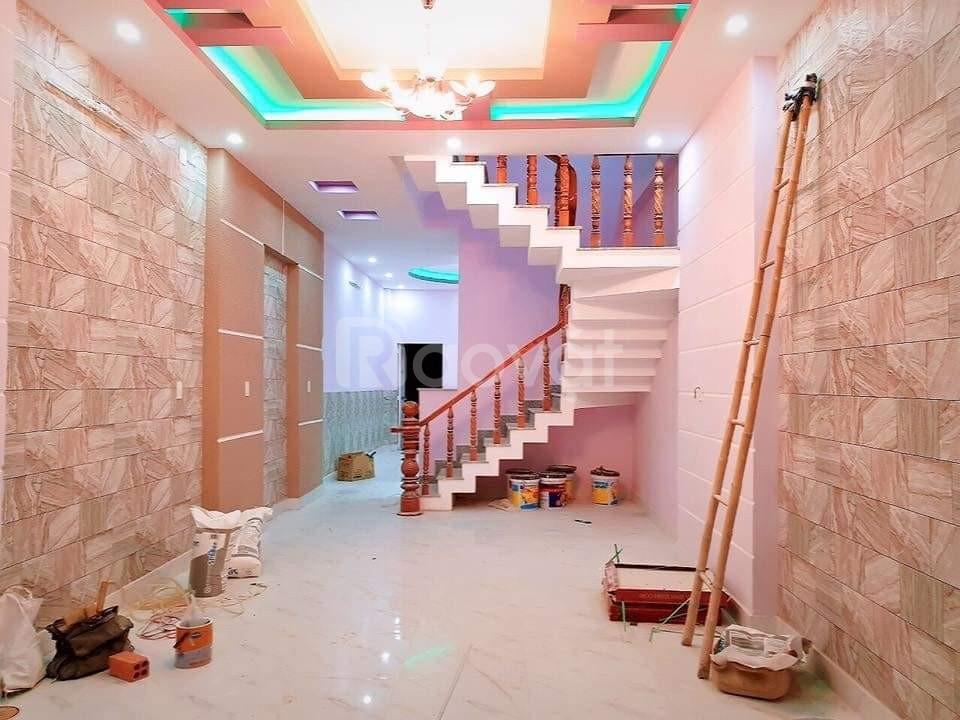 Nhà mặt tiền Trần Văn Kiểu 5,5x23,6m2 5,5 tỷ sổ hồng riêng.