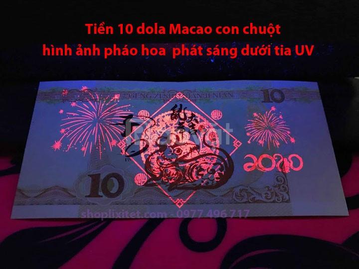 Giới thiệu tiền con chuột macao, lưu niệm lì xì Tết 2020