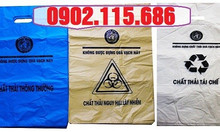 Túi rác thải y tế tự hủy, túi đựng chất thải y tế tự hủy,