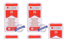 Bộ 4 hộp que thử đường huyết OGCARE sử dụng cho máy đo đường huyết