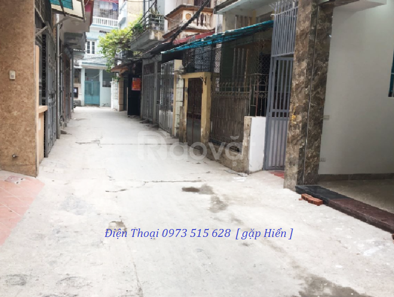 6.5 tỷ – Nhà mới 50m2, 2 mặt thoáng, gara ô tô phố Thái Hà  (ảnh 5)