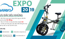 Mua xe điện giá không tưởng tại VietNam Expo 2019 từ Bluera