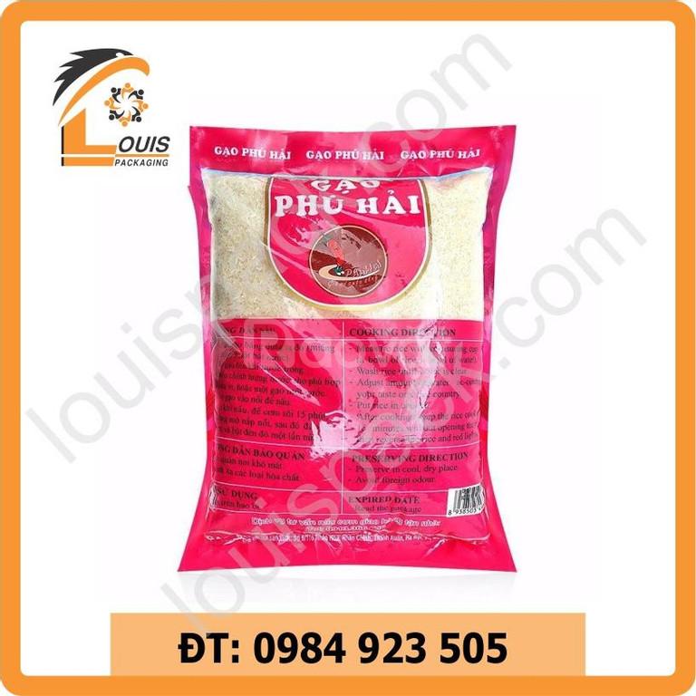 Bao bì đựng gạo xuất khẩu - nội địa