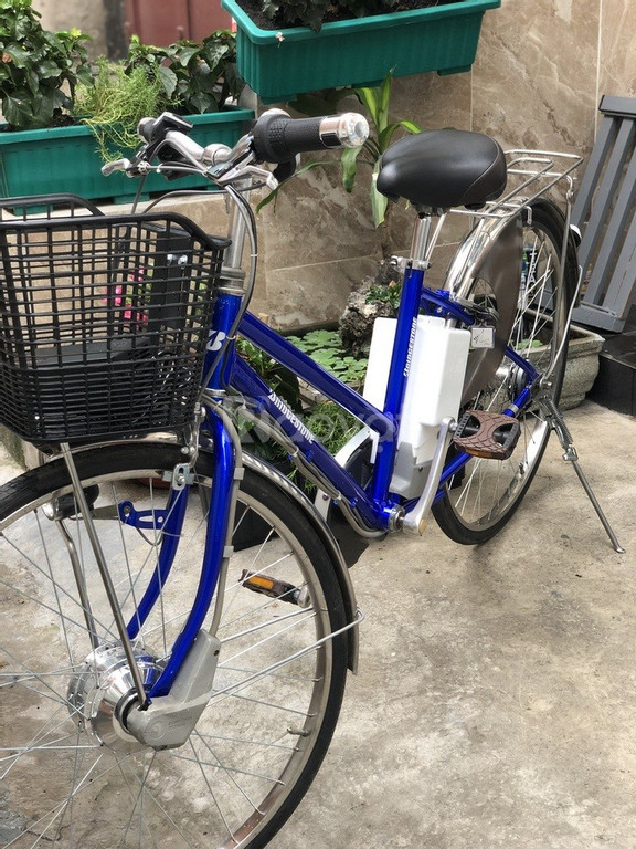Bán xe đạp điện trợ lực tay ga hàng Nhật bãi cũ giá rẻ Tp HCM – Mã: X9