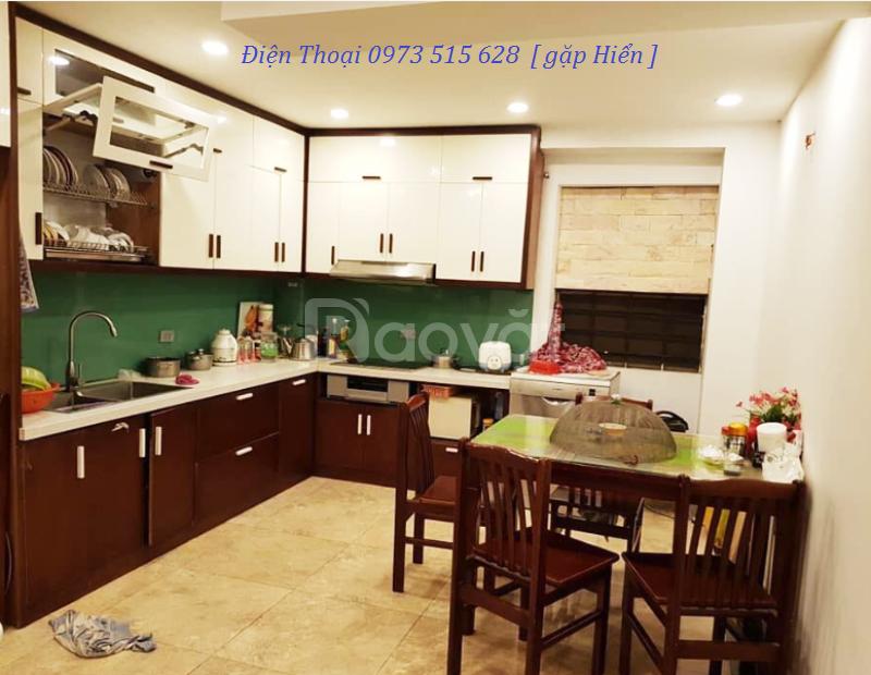 6.5 tỷ – Nhà mới 50m2, 2 mặt thoáng, gara ô tô phố Thái Hà  (ảnh 1)