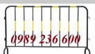 Hàng rào di động 1x2m chắc chắn bền đẹp giá rẻ tại Hà Nội. (ảnh 8)