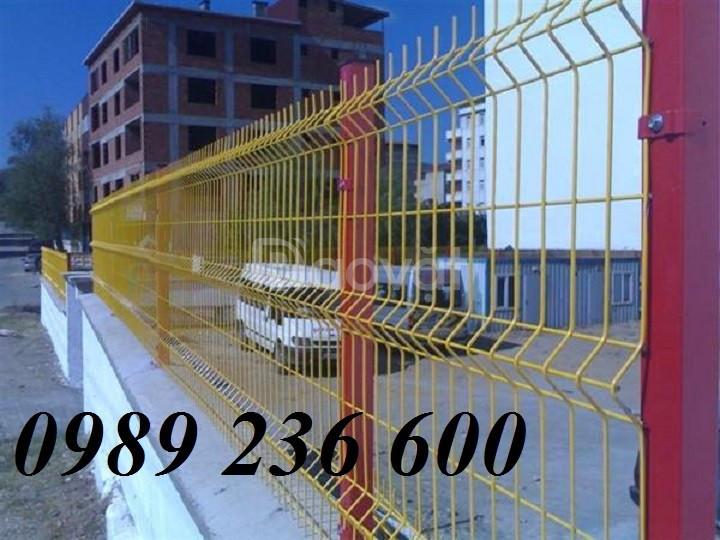 Sản xuất Hàng rào lưới thép D5a50x150; D5a50x200 mạ kẽm sơn tĩnh điện.