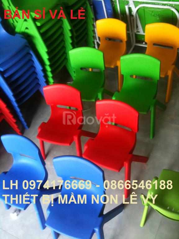 Bàn ghế trẻ em, bàn ghế mầm non, ghế nhựa đúc, bàn gấp
