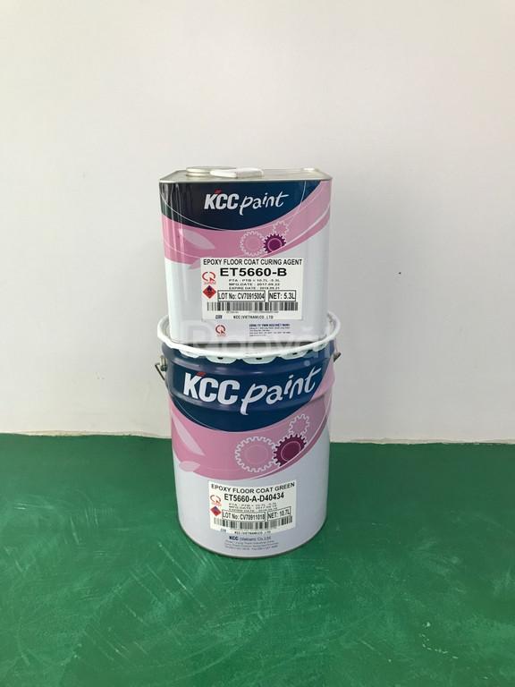 Bán sơn epoxy KCC màu chuẩn chính hãng giá rẻ cho công trình