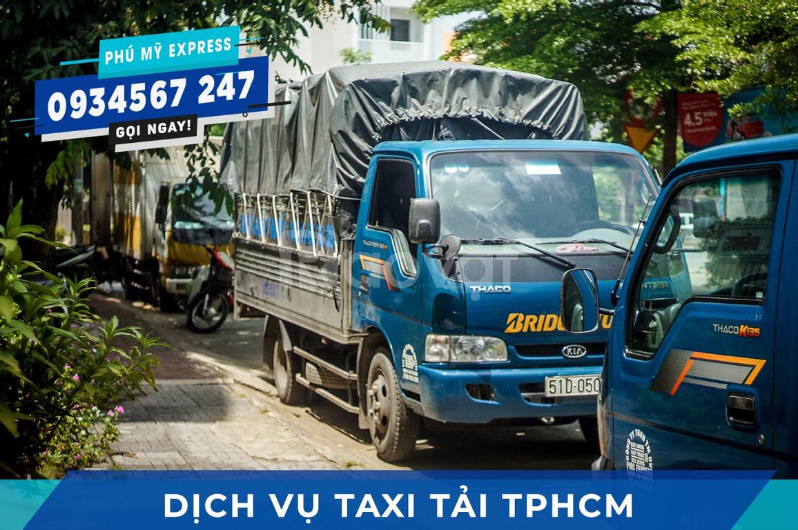 Dịch vụ Taxi tải Bình Thạnh trọn gói - Taxi tải Phú Mỹ