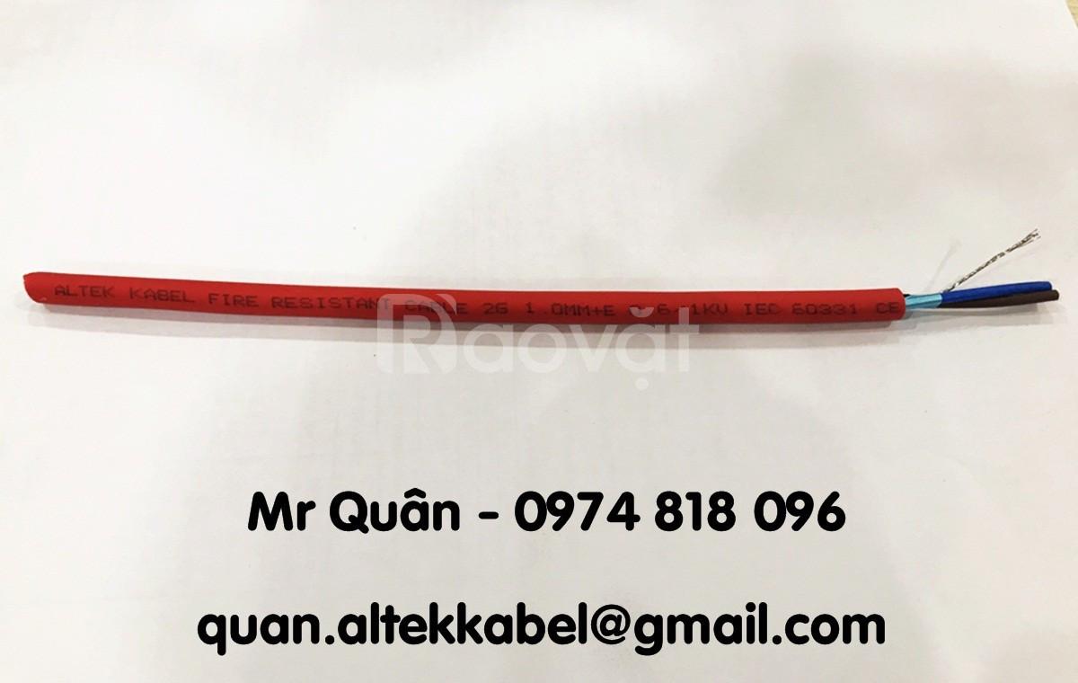 Cáp chống cháy 2x2.5sqmm - Altek Kabel