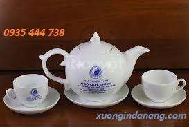 Bộ tách trà tại Quảng Ngãi, nhận cung cấp bộ ấm chén quà tặng