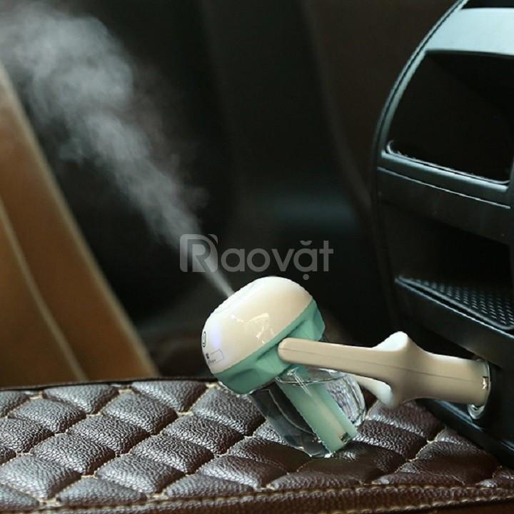 Combo máy khuếch tán tinh dầu ô tô + tặng 2 lọ tinh dầu cao cấp Mã SP