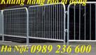 Hàng rào di động 1x2m chắc chắn bền đẹp giá rẻ tại Hà Nội. (ảnh 1)