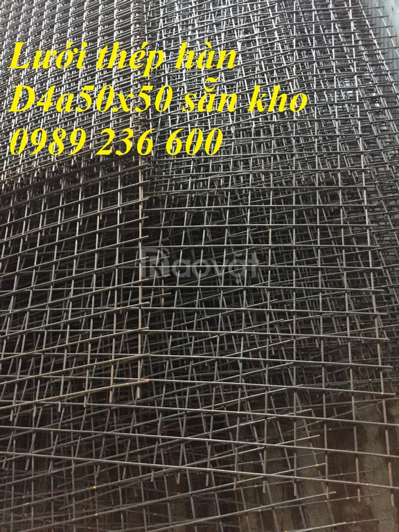 Chuyên cung cấp Lưới thép hàn D4a50x50 giá rẻ giao hàng nhanh.