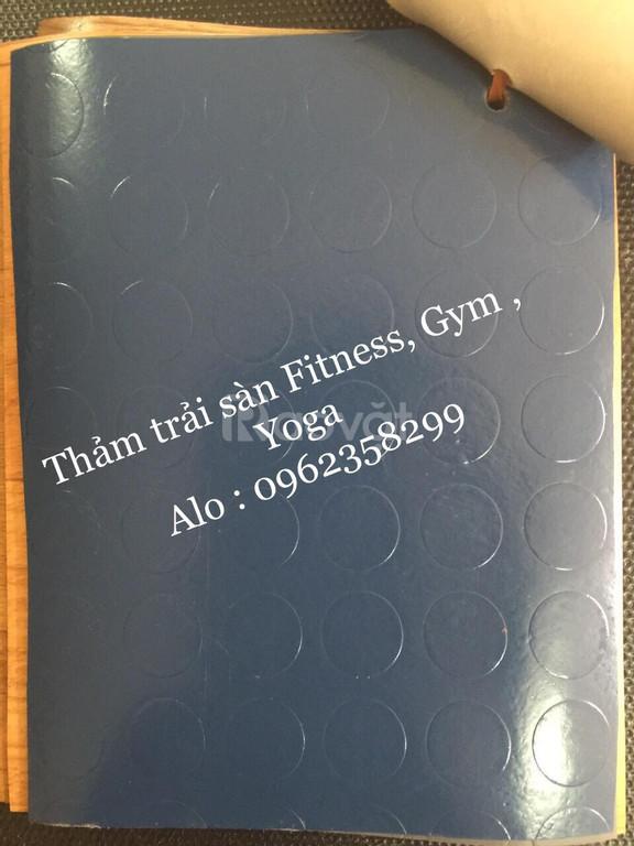 Thảm trải sàn fitness, gym, yoga
