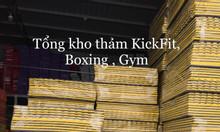 Thảm tập phòng gym fitness