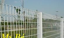Hàng rào lưới thép mạ kẽm nhúng nóng, sơn tĩnh điện