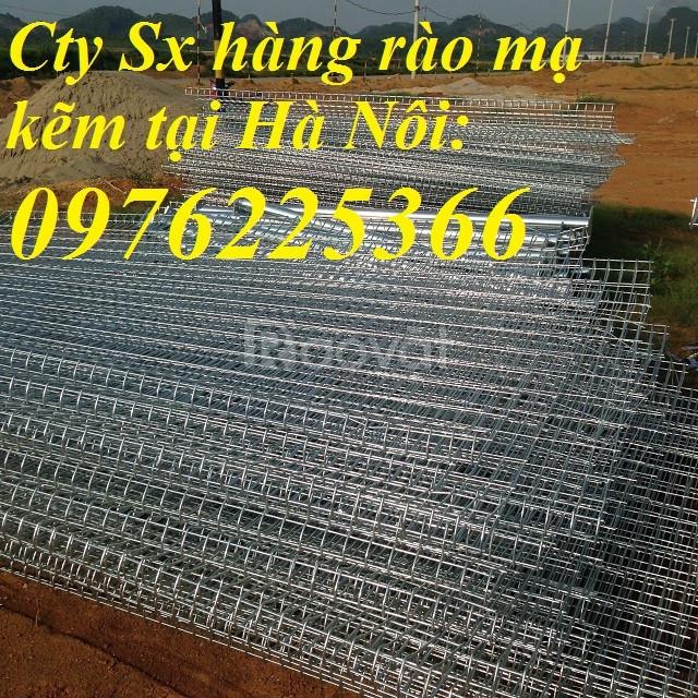 Hàng rào lưới thép, hảng rào mạ kẽm, lưới thép hàn chập