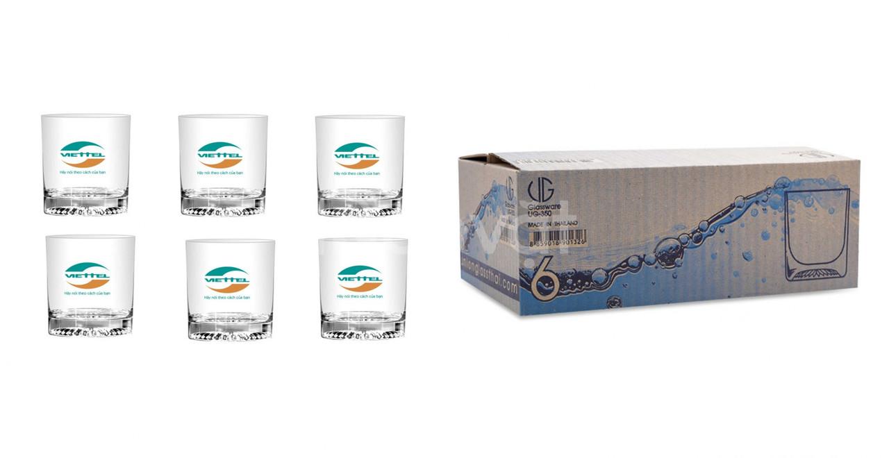 Nhận làm ly thủy tinh có in ấn logo doanh nghiệp tại Quảng Nam