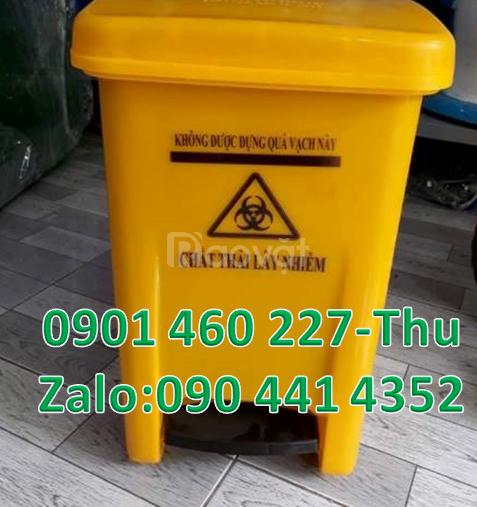 Bán thùng rác y tế, thùng rác y tế dung tích 20 lít,thùng rác 15 lít