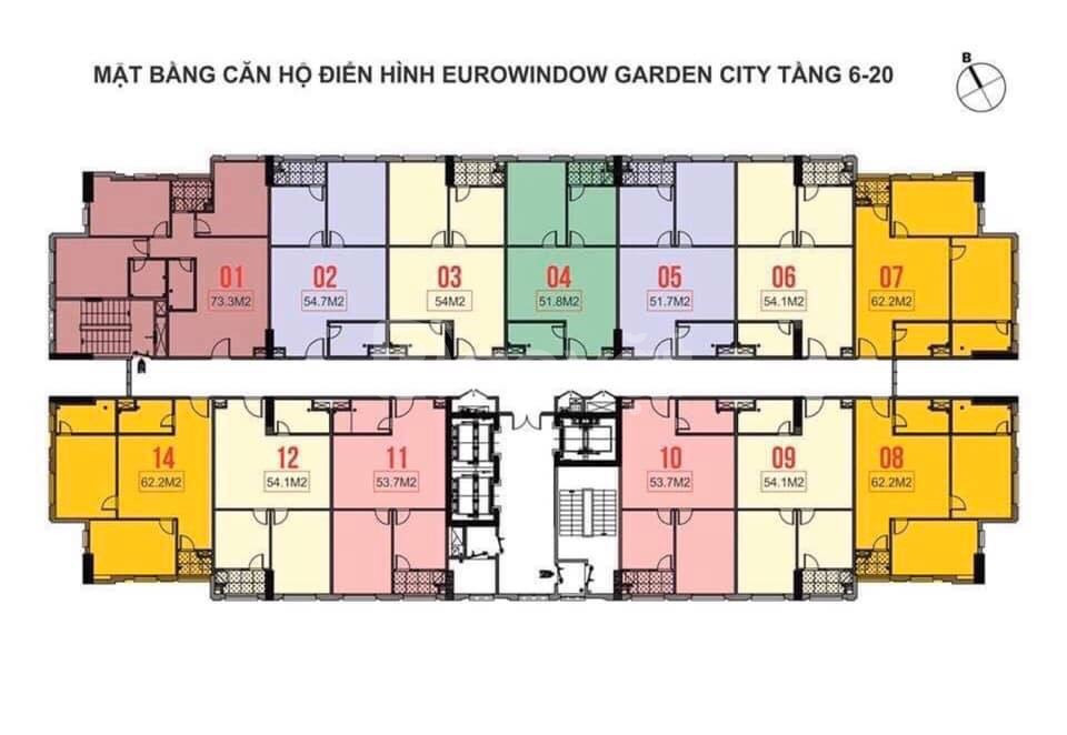 Cần bán gấp căn hộ Eurowindow - vị trí đẹp TP Thanh Hóa