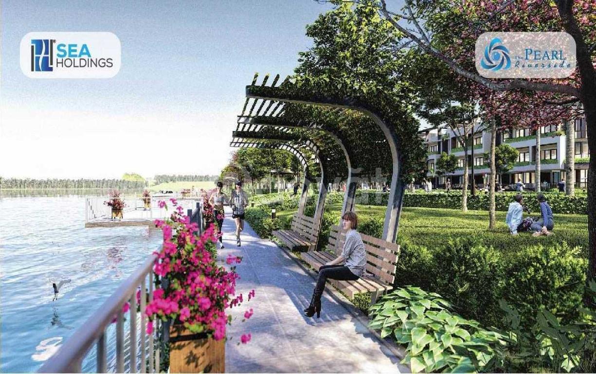 4 lý do chọn mua The Pearl Riverside - nhà phố ven sông Vàm Cỏ