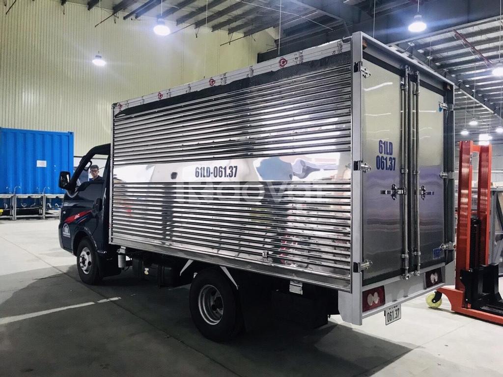 Bán xe tải jac 1.25 tấn thùng dài 3m2 rẻ - hỗ trợ mua trả góp