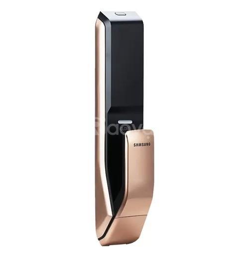 Khóa cửa bằng vân tay Samsung SHP-DP728 gold