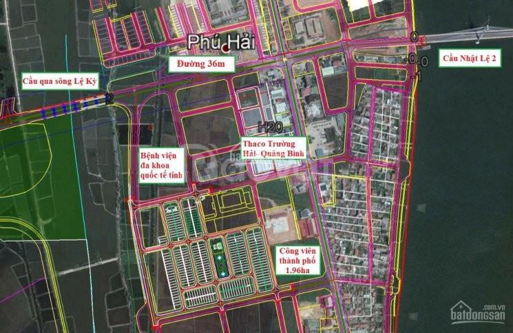 Đô thị mới chỉ 16 triệu/m2 sở hữu 142m2 giữa Trung Tâm TP Đồng Hới
